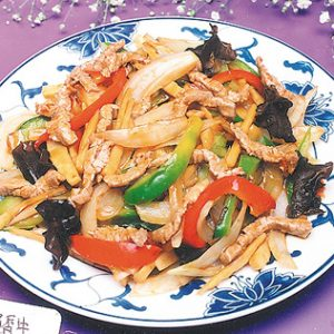 Beef w. Garlic Sauce
