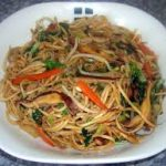Chicken Chow Mein or Chop Suey