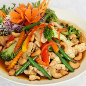Chicken w. Cashew Nuts