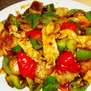 Chicken w. Garlic Sauce