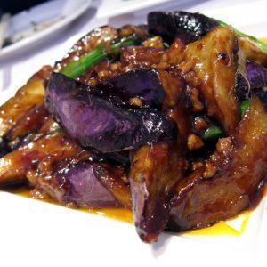 Chinese Eggplant in Garlic Sauce