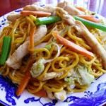 Roast Pork Chow Mein or Chop Suey