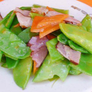 Sauteed Snow Peas