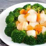 Scallops w. Broccoli