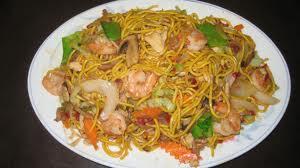Shrimp Chow Mein or Chop Suey