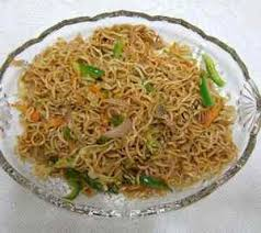 Vegetable Chow Mein or Chop Suey