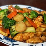 chicken w. vegetables